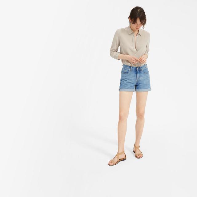 Women's Denim Short by Everlane in Vintage Light Blue, Size 24