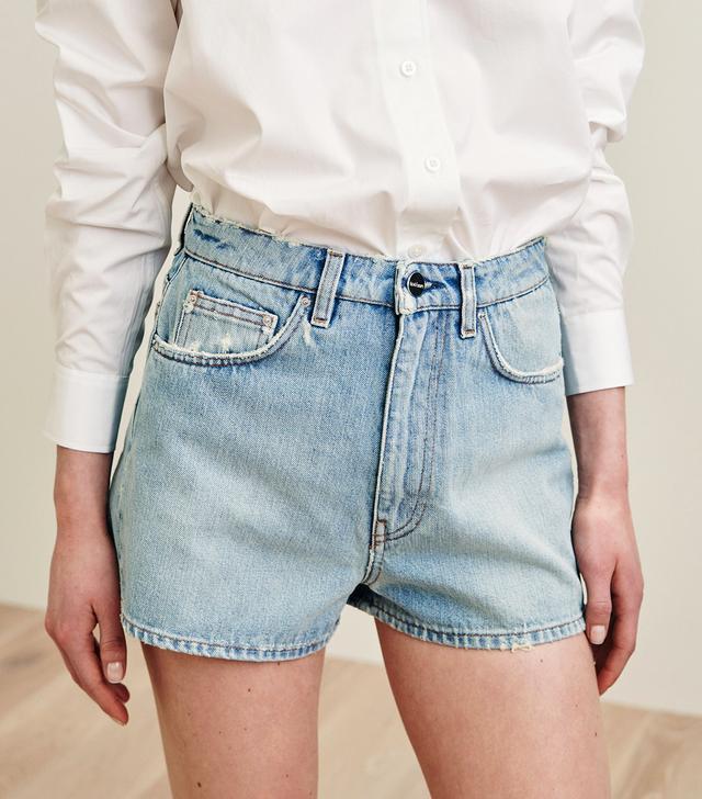 Totême Original Denim Shorts