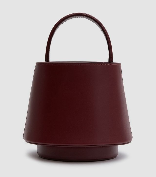 Lantern Bag in Burgundy