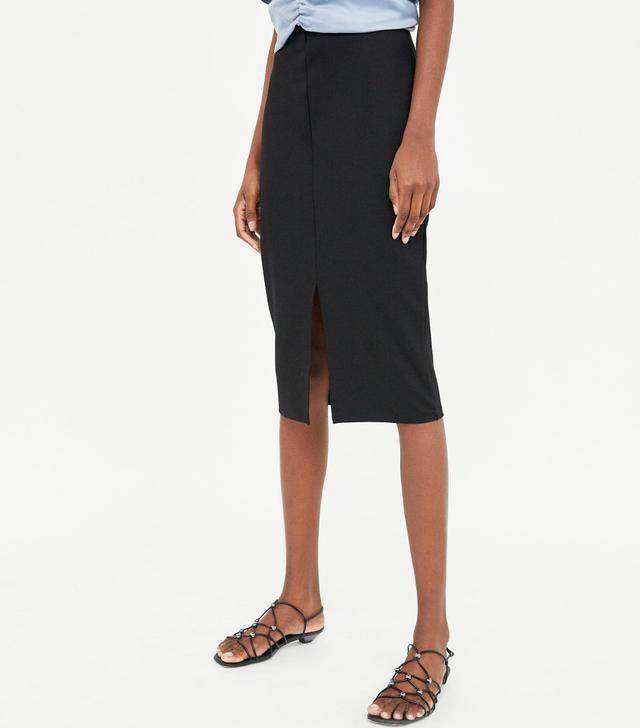 Zara Basic Pencil Skirt