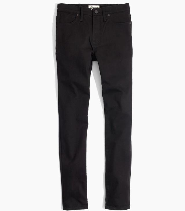 "9"" High-Rise Skinny Jeans in ISKO Stay Black"