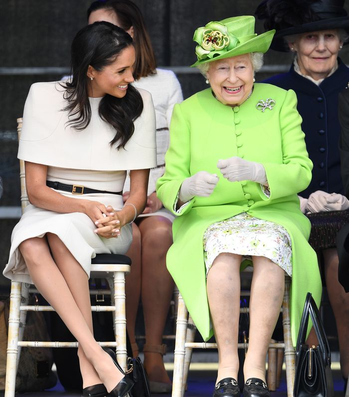 Meghan Markle Wears a Green Givenchy Look While Visiting Ireland with Prince Harry