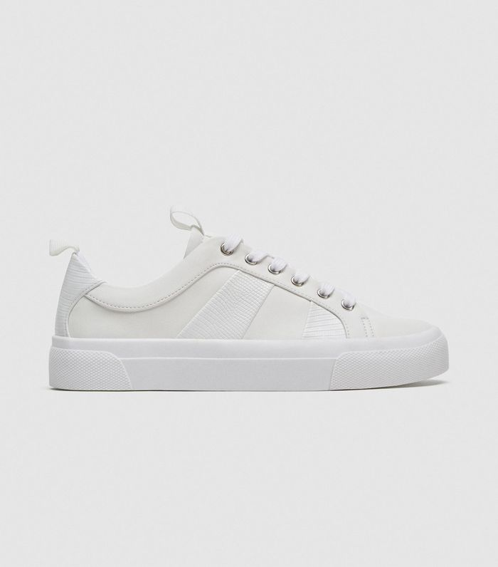124ee2828bb 15 Pairs of All-White Summer Sneakers | Who What Wear