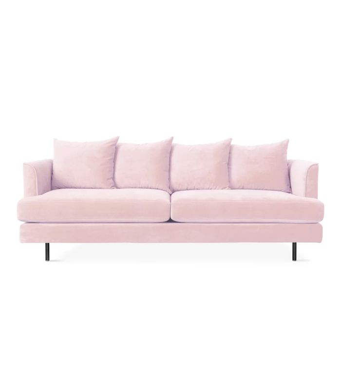 9 Pink Velvet Sofas We All Secretly Need In Our Lives Mydomaine