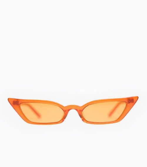 Poppy Lissiman Skiny Orange Lens Sunglasses