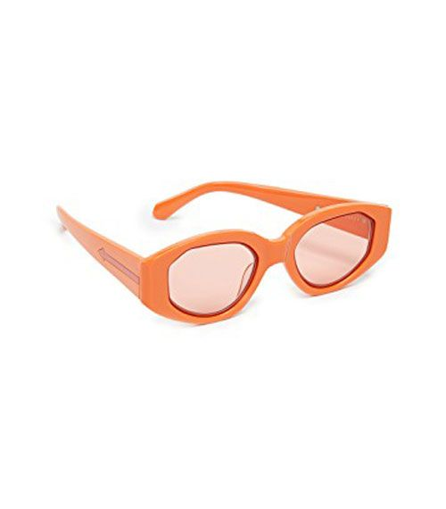 Karen Walker Orange Lens Castaway Sunglasses