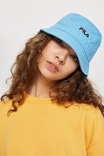 Blue Baxter Bucket Hat by FILA