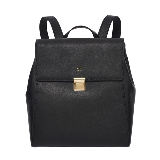 The Daily Edited Black Structured Backpack