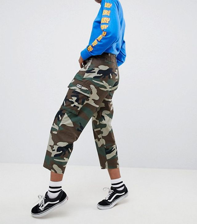 Obey Tapered Fit Combat Pants