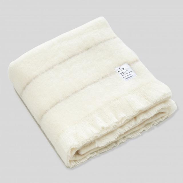 IN BED Alpaca Throw Rug