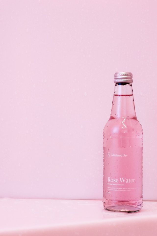 Madame Dry Lightly Sparkled Rose Water (12 Pack)