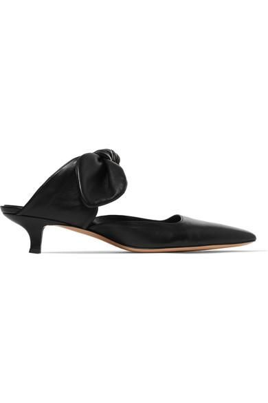 Coco Leather Mules