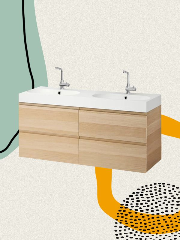 the 10 best ikea bathroom vanities to buy for organization mydomaine - Ikea Bathroom Vanity