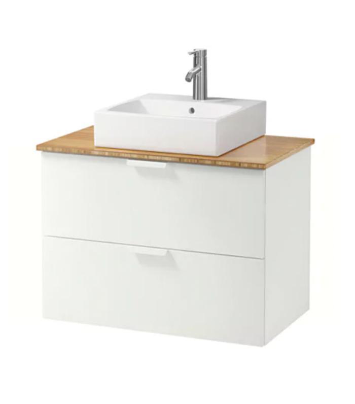 the 10 best ikea bathroom vanities to buy for organization mydomaine - Ikea Bathroom Vanity
