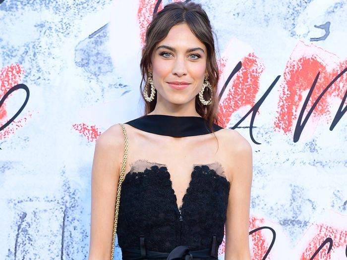 Alexa Chung Just Revealed Her Dream Holiday Wardrobe Via Her First Runway Show
