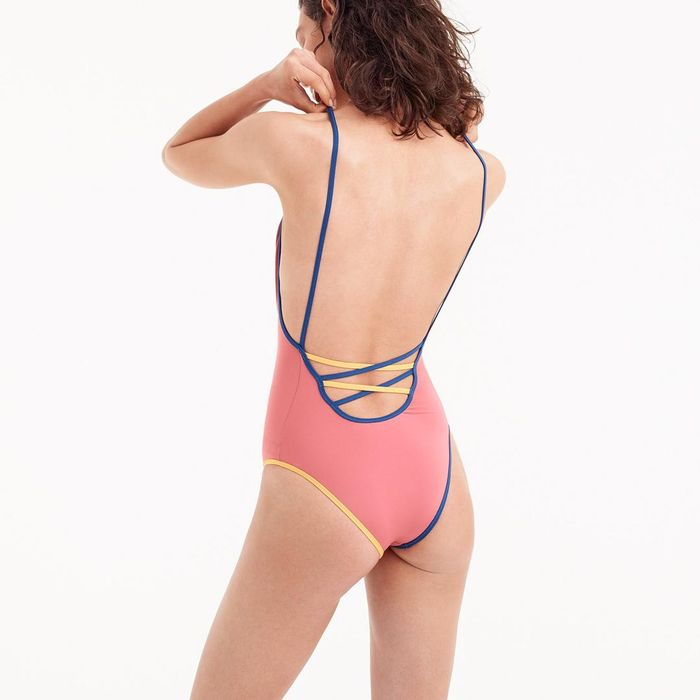 76dd4fc67e252 19 Flattering One-Pieces That Are All Under  100