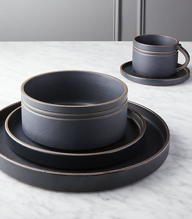 CB2 Pitch Dinnerware