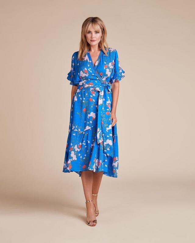 Tanya Taylor Falling Floral Dress
