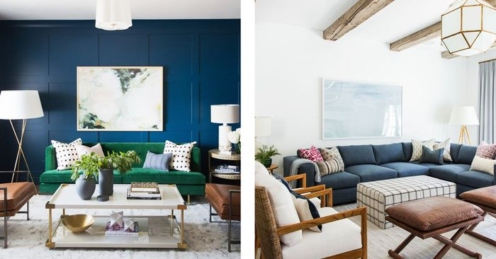 10 transformative small living room paint colors mydomaine - Painting options for a living room ...