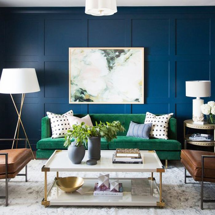 Living Room Paint Colors Blue 10 transformative small living room paint colors | mydomaine