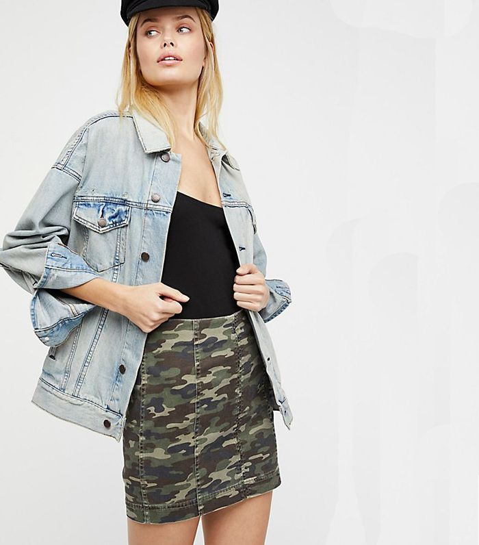 2a31b18d5 20 Camo Denim Skirts We Can't Stop Thinking About | Who What Wear