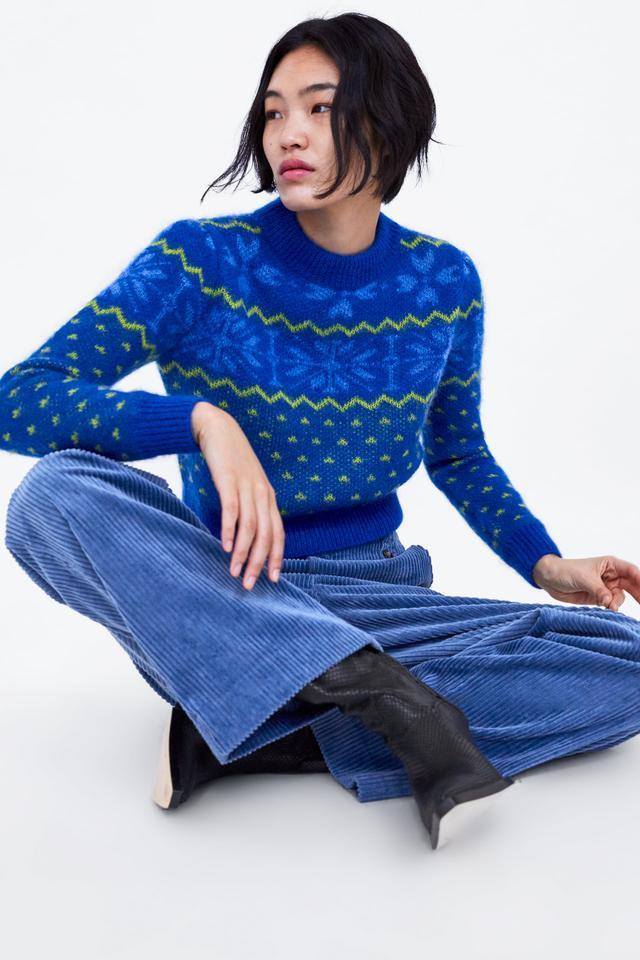 Zara Star Sweater