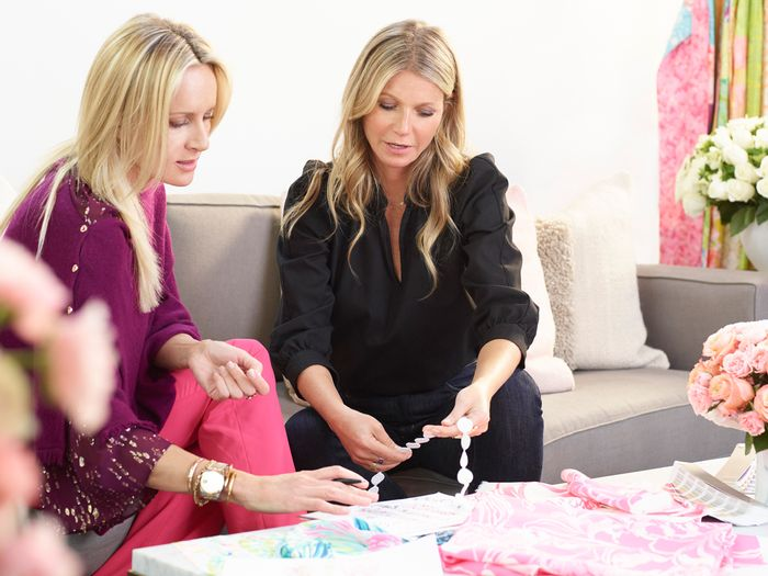 a6ab3aed1ad4 Gwyneth Paltrow Just Designed the Dreamiest Lilly Pulitzer Dresses