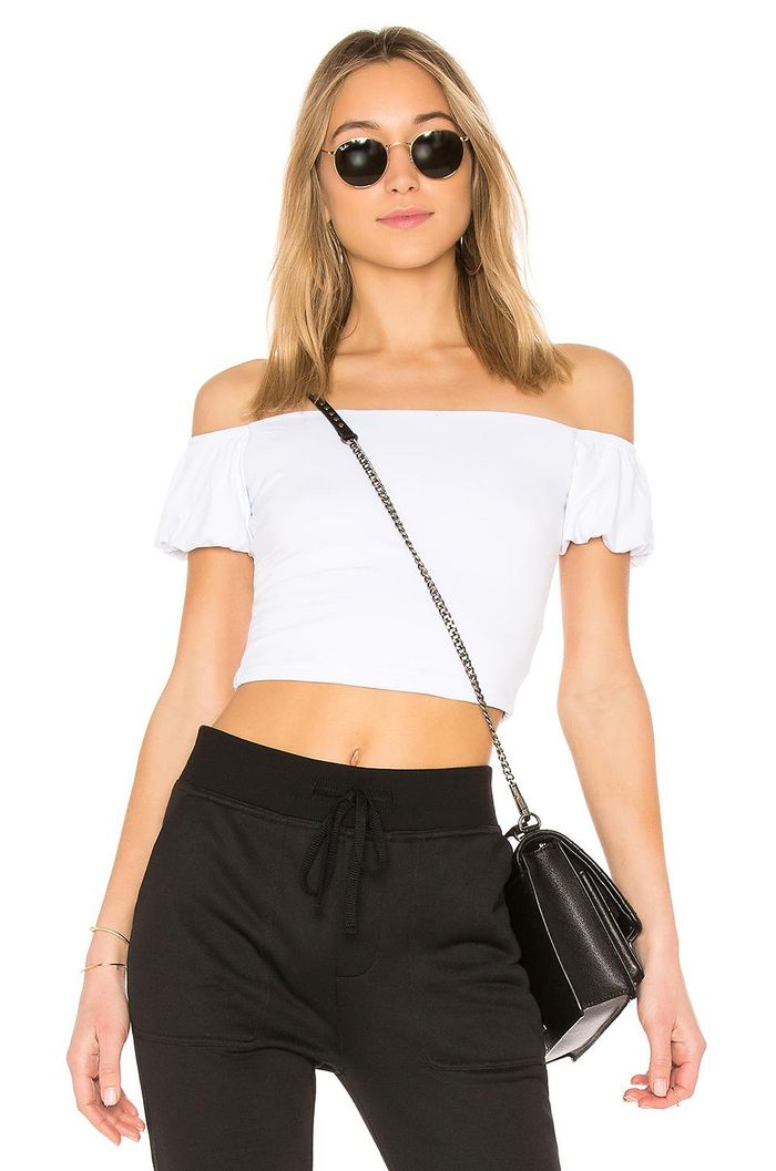 c2f7fc951d65b8 9 Off-the-Shoulder Tops We Can't Get Enough Of | Who What Wear