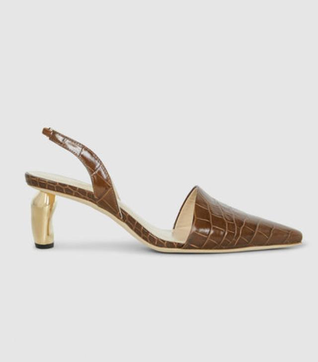 b513d0c61977c Rejina Pyo Lottie Red Suede Tamarind Heel Ribbon Sandals