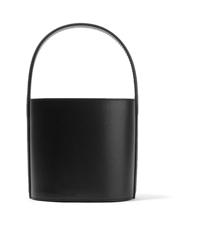 Bissett Patent-leather Bucket Bag