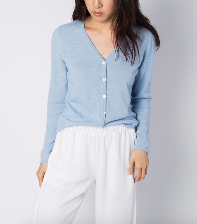 Almina Concept Wool Cashmere Cardigan