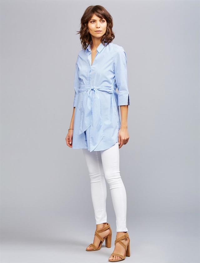 AG White Designer Maternity Jeans