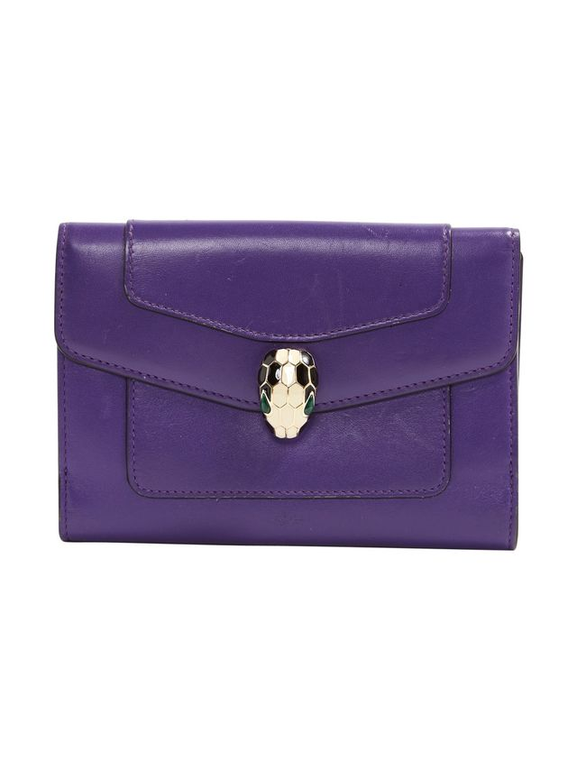 Bulgari Leather Clutch