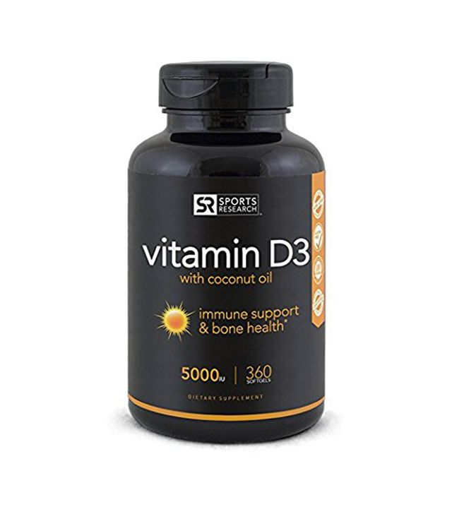 Sports Research Vitamin D3 with Coconut Oil
