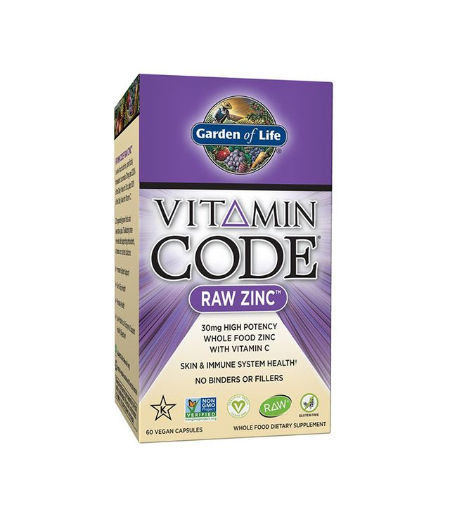 Garden of Life Vitamin Code Raw Zinc Whole Food Supplement