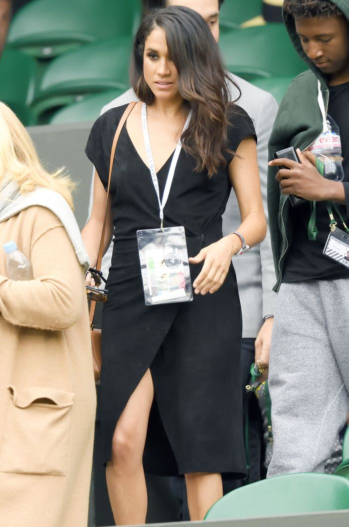 b8f6a462 Meghan Markle's Throwback Wimbledon Outfit | Who What Wear