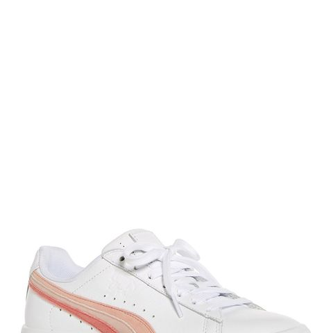 Clyde Leather Lace Up Sneakers