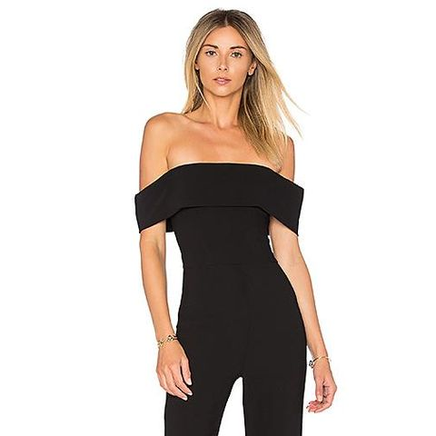 3e1ca921c9 Do s and Don ts of Every Occasion. Aubrey Off Shoulder Jumpsuit