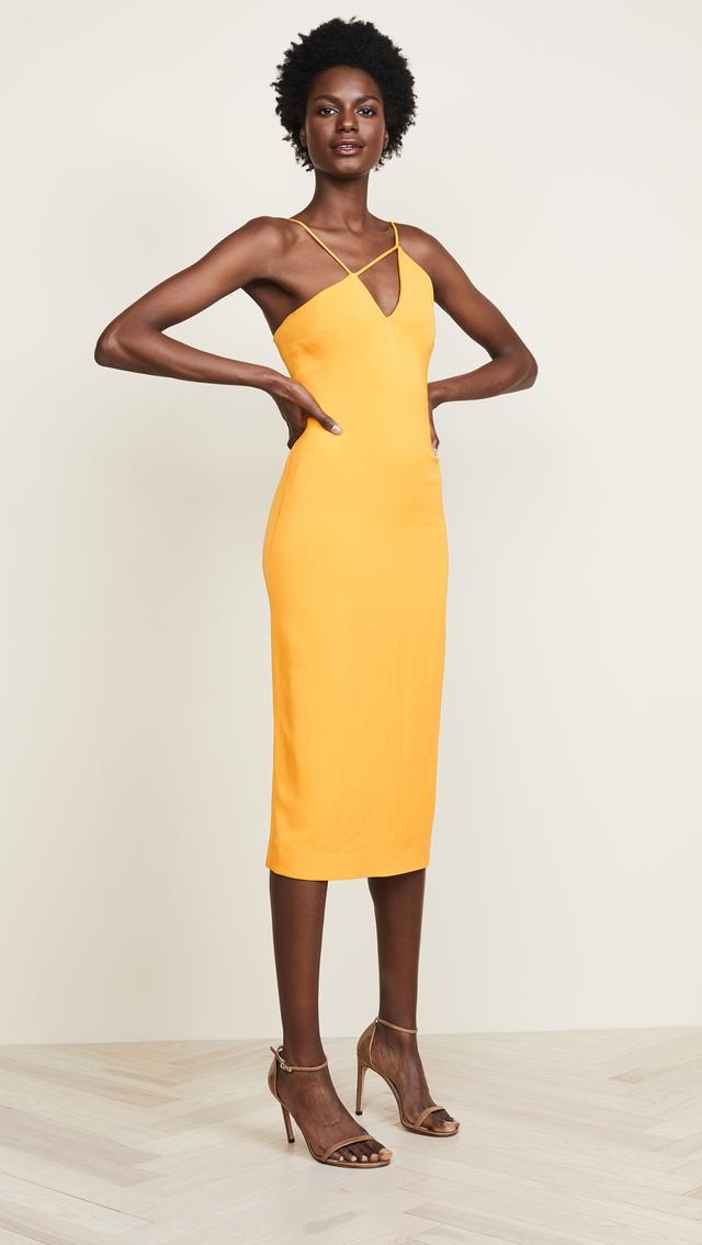 Strappy Pencil Dress