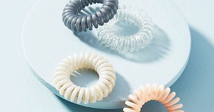 Why Everyone Is Wearing Spiral Hair Ties  17cc9a52f08