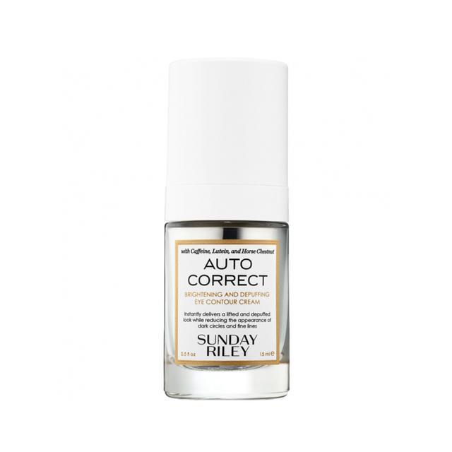 Sunday Riley Auto Correct Brightening and De-Puffing Eye Contour Cream