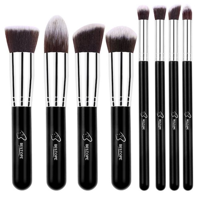 Bestope 8-Piece Makeup Brush Set