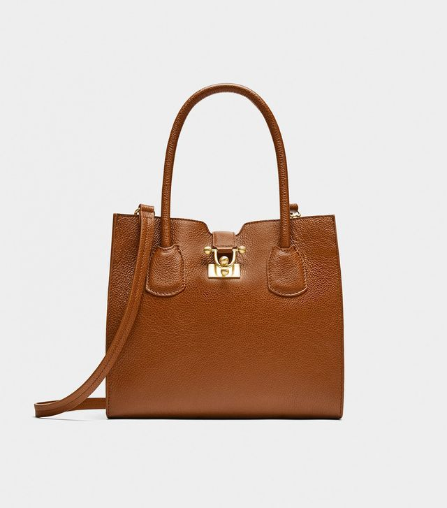Zara Leather Mini City Bag