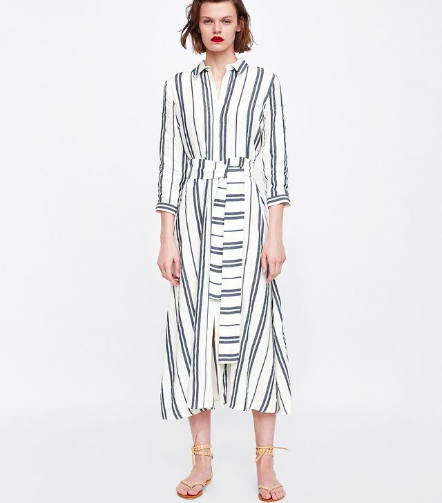 Zara Long Striped Tunic