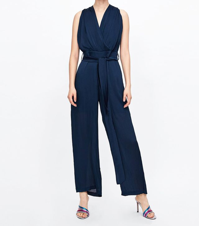 Zara Mixed Lace Jumpsuit
