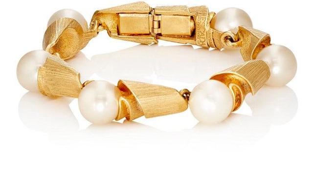 Women's Imitation-Pearl Bracelet