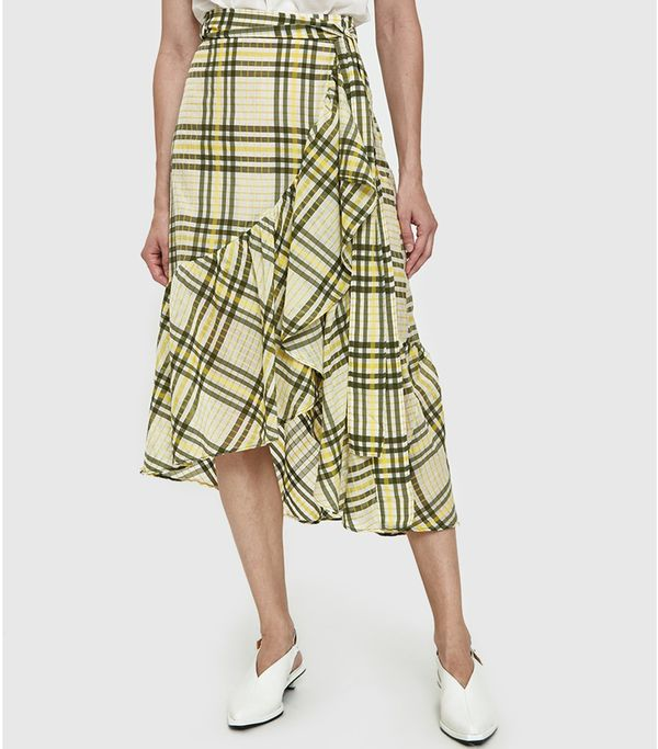Camu Ruffle Skirt