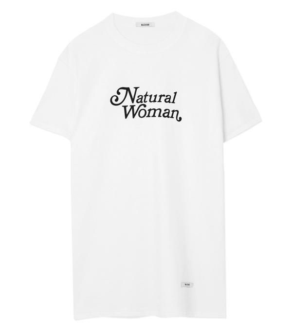 Natural Woman Printed Cotton-jersey T-shirt