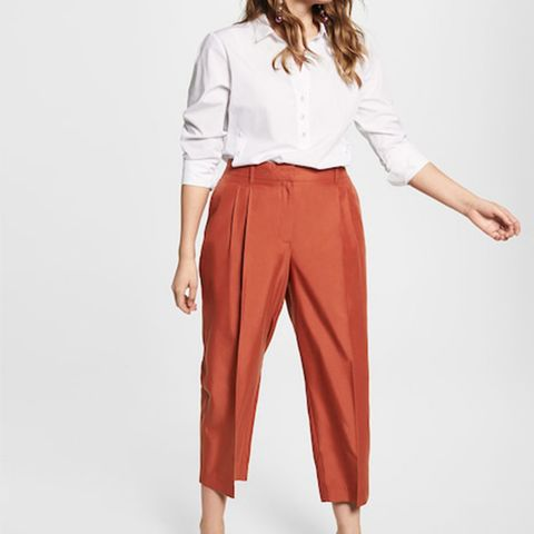 Flowy Cropped Trousers