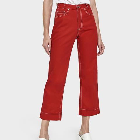 Linda Pant in Red